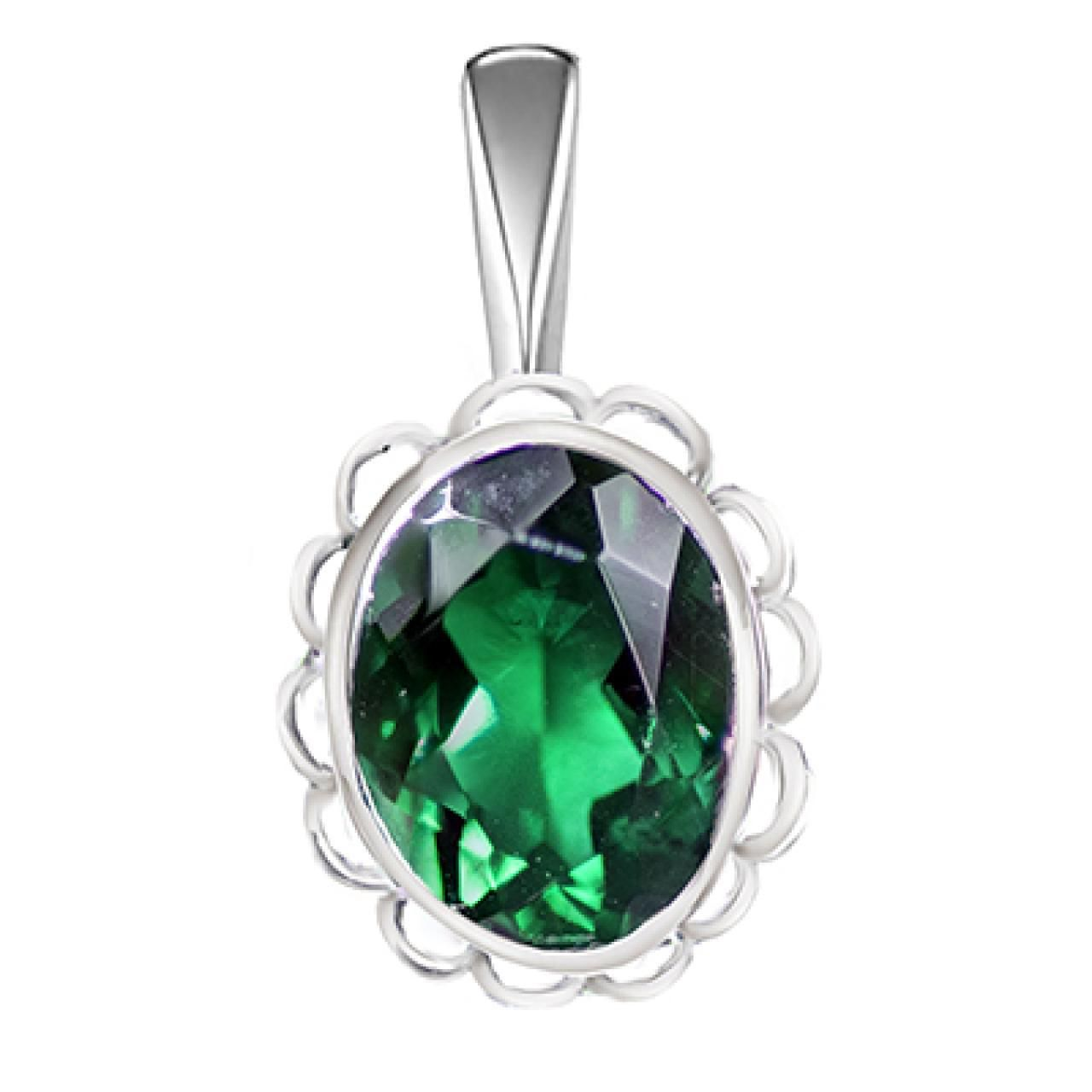 Hoppe Jewelers - SS OVL EMER-MAY BS ACCENT PEND, $29.9 (http://www.hoppejewelers.com/ss-ovl-emer-may-bs-accent-pend/)