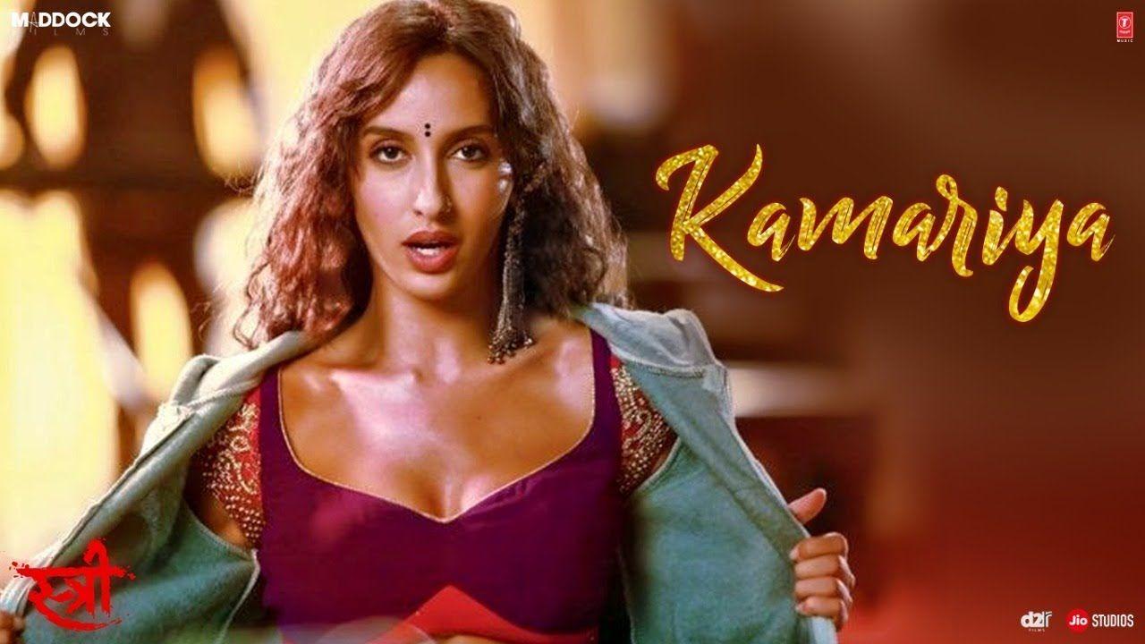 Kamariya Video Song Stree Nora Fatehi Rajkummar Rao Aastha Gill Songs Divya Kumar Song Lyrics