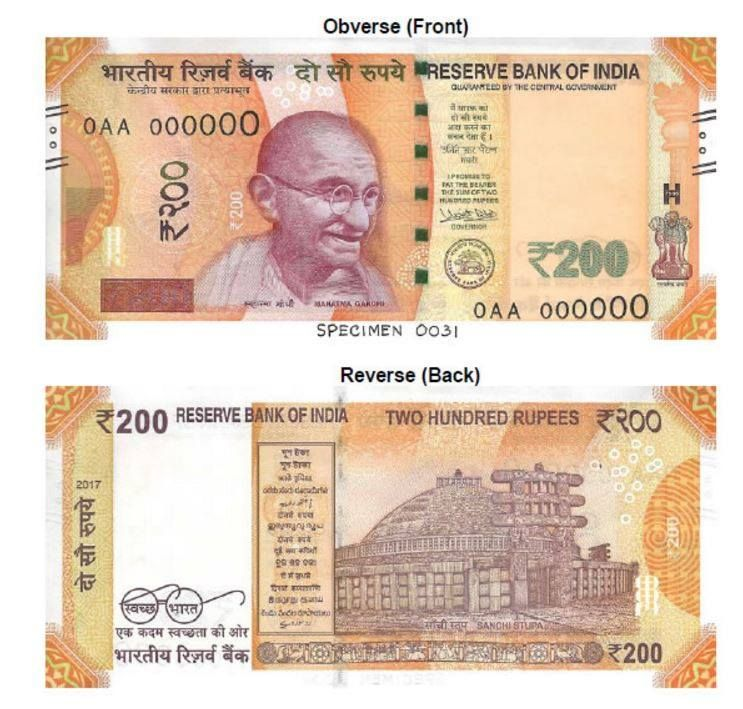 BANK NOTE IN UNC LOT OF 5 CONSECUTIVE 500 RUPEES GANDHI ISSUE OLD SERIES R.B.I