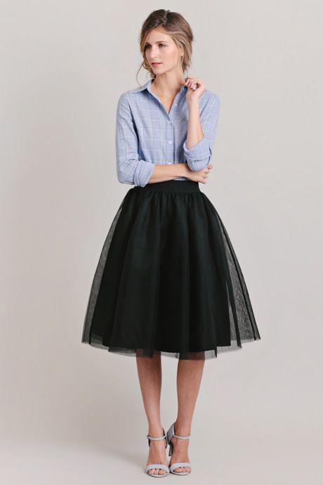 13 going on 30 | Ruche | Midi skirt outfits | Tulle skirt