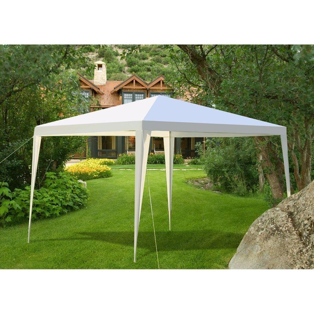 Outdoor Gazebo Yard Backyard Garden Canopy Tent Roof Shelter Event Party Wedding Ebay Backyard Gazebo Backyard Canopy Gazebo Tent