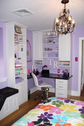 Teen Bedroom Decorating Tips, Tricks  Projects Desks, Bedrooms - Teen Room Decorating Ideas