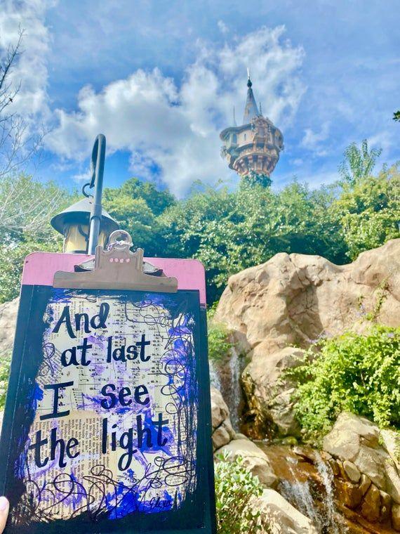 Incroyable  Mot-Clé Tangled Music Art Lyrics Disney Princess Rapunzel Wedding Anniversary Unique Gifts For Her Kids Room