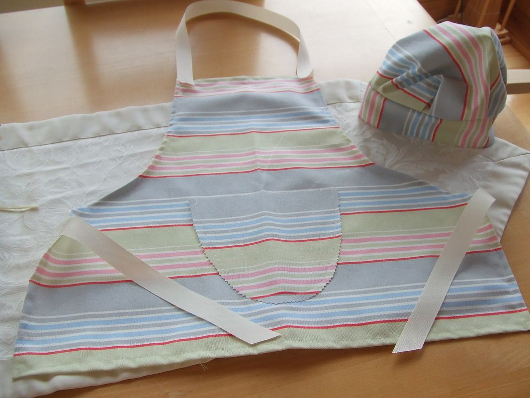 White apron ireland - Chefs Hat And Apron Ecokate Kids Handmade In Ireland