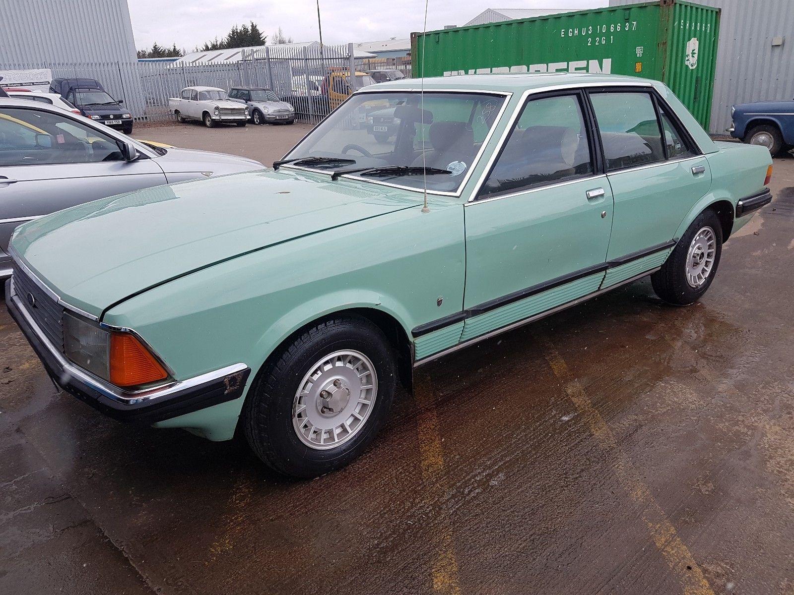 eBay: 1981 FORD GRANADA MK2 3.0 GHIA AUTO- RHD Import Very Solid  #classiccars