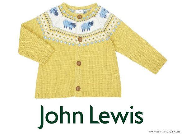 John Lewis Fair Isle Pattern Jumper | Will & Kate's Kiddos ...