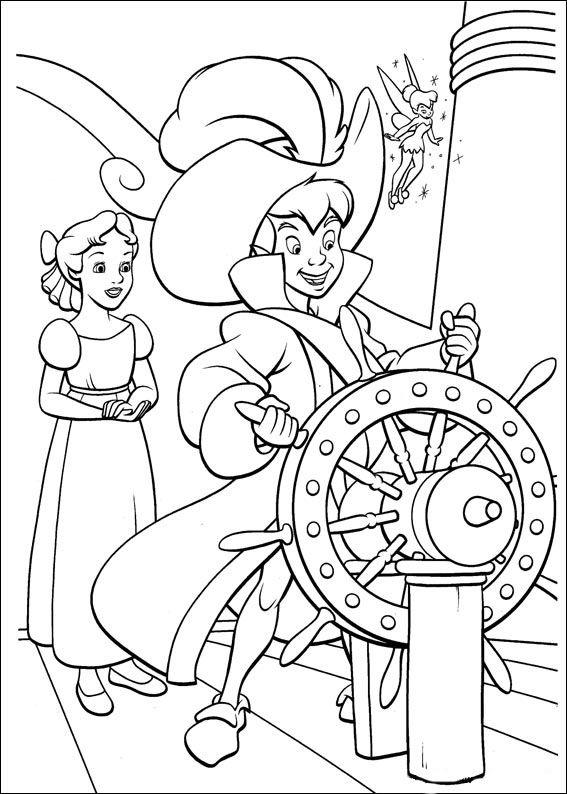 Disegni Da Colorare Peter Pan 41 Coloring Pages Pinterest