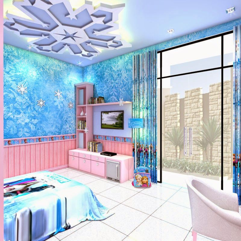 Little Girl Frozen Bedroom Ideas