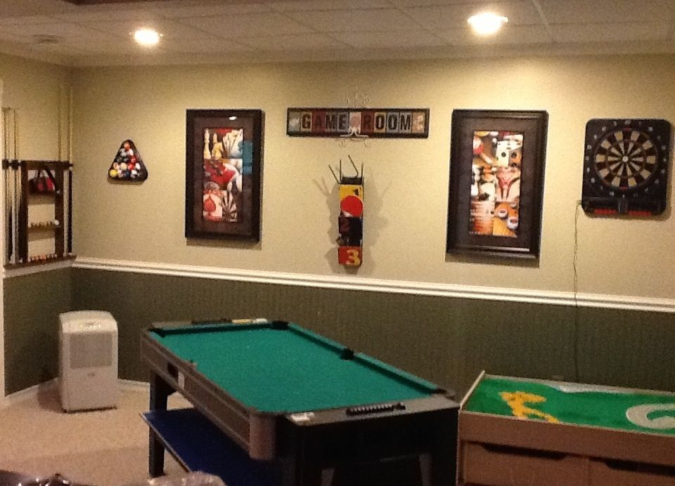 Diy Boys Game Room All Items Are From Hobby Lobby I Just Love That Store Don T You Boys Game Room Hobby Kids Games Hobby Lobby Furniture