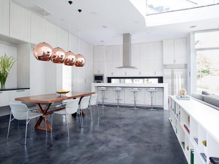Cucine moderne bianche fotografa julie soefer casa nova