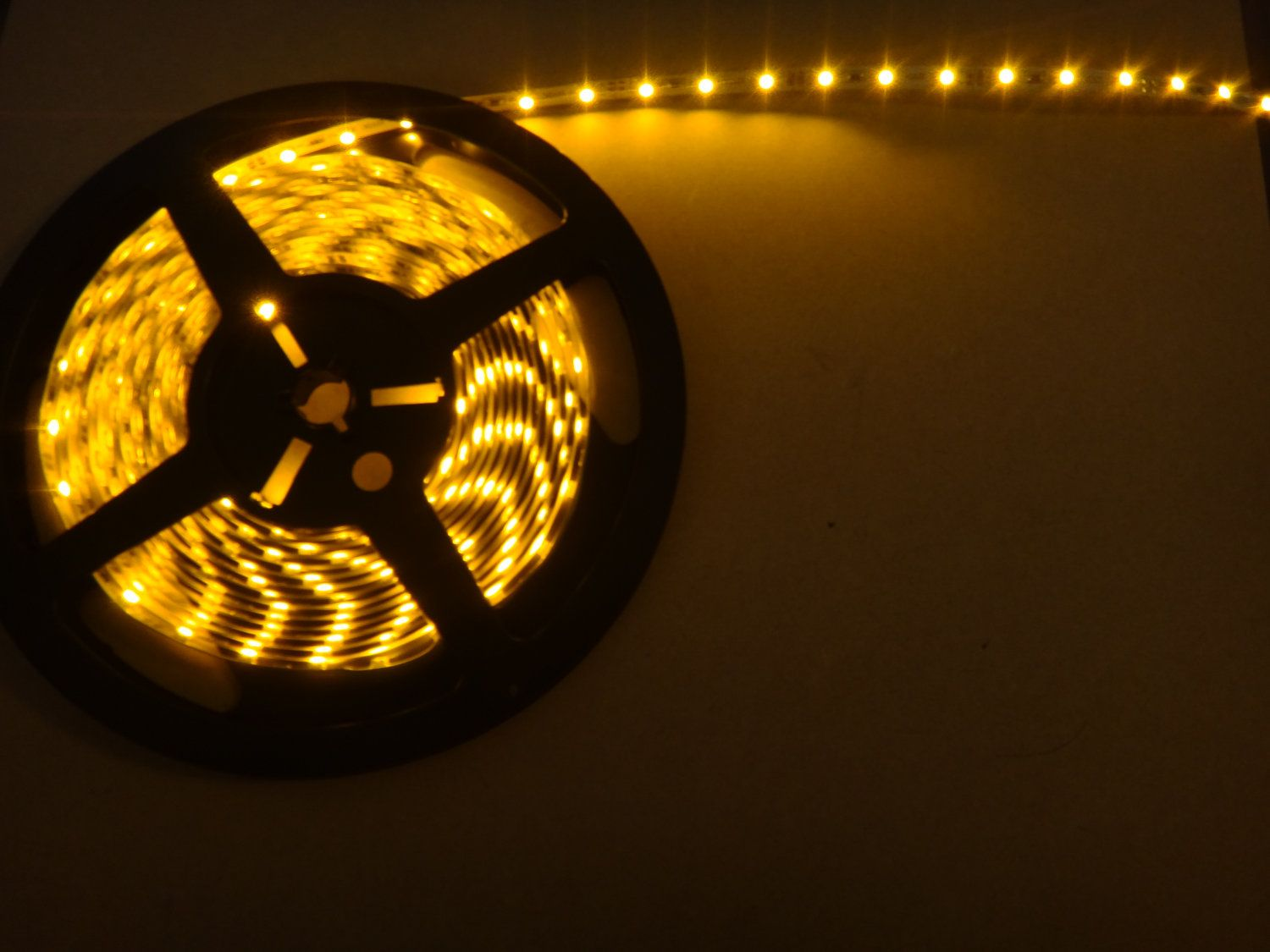 Yellow 1 4 Led Strip Super Bright For Led Lit By 1madfabricator 4 75 Led Lights Led Strip Led
