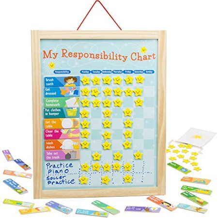Toys Responsibility Chart Chore Cards Charts For Kids