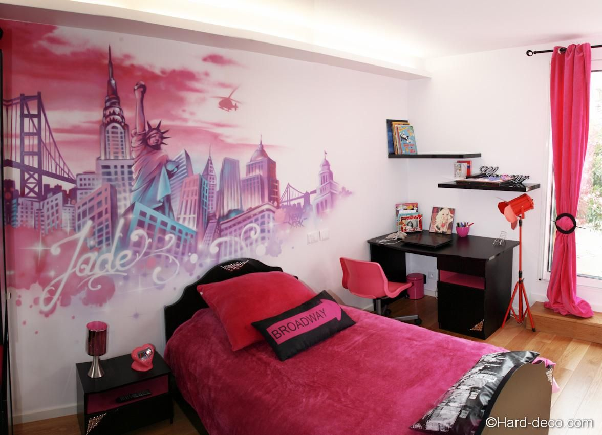 Chambre Sur Le Thème De New York awesome idee deco chambre theme new york that you must know