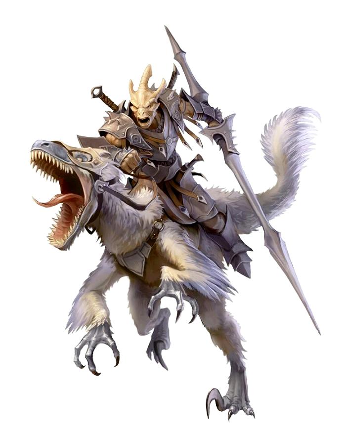 fantasy demon knight