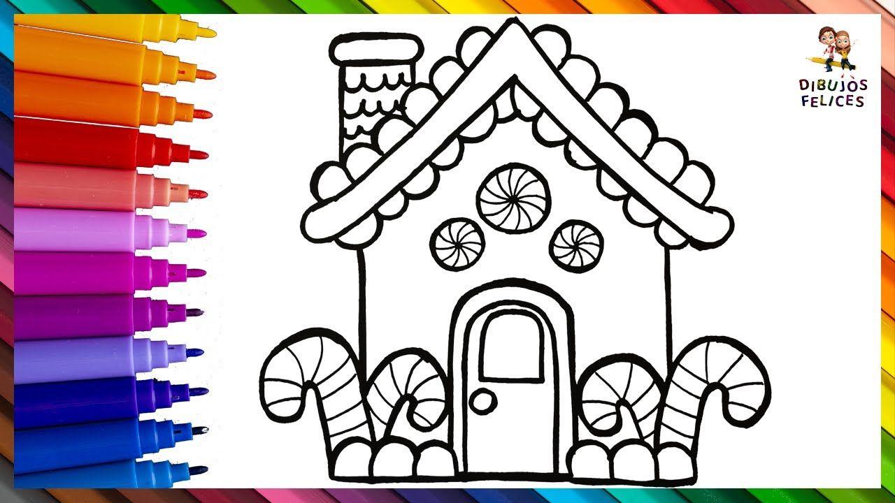 Dibuja Y Colorea La Casita De Hansel Y Gretel Dibujos Para Ninos En 2020 Dibujos Para Ninos Dibujos De Colores Hansel Y Gretel