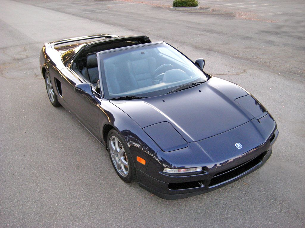 1995 acura nsx t midnight pearl jh4na1280st000463 improvements included the torque reactive