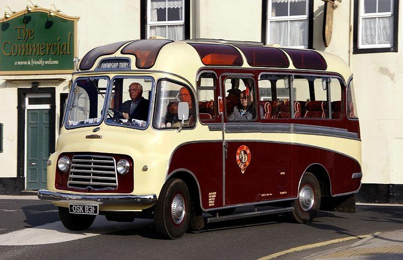 Classic Bus Classic Coach Vintage Buses Truck Uk Historic