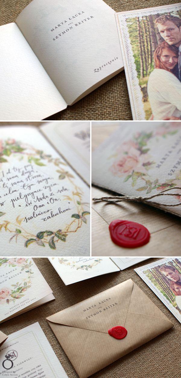Tema Matrimonio Jane Austen : Jane austen inspired wedding invitation for marta szymon