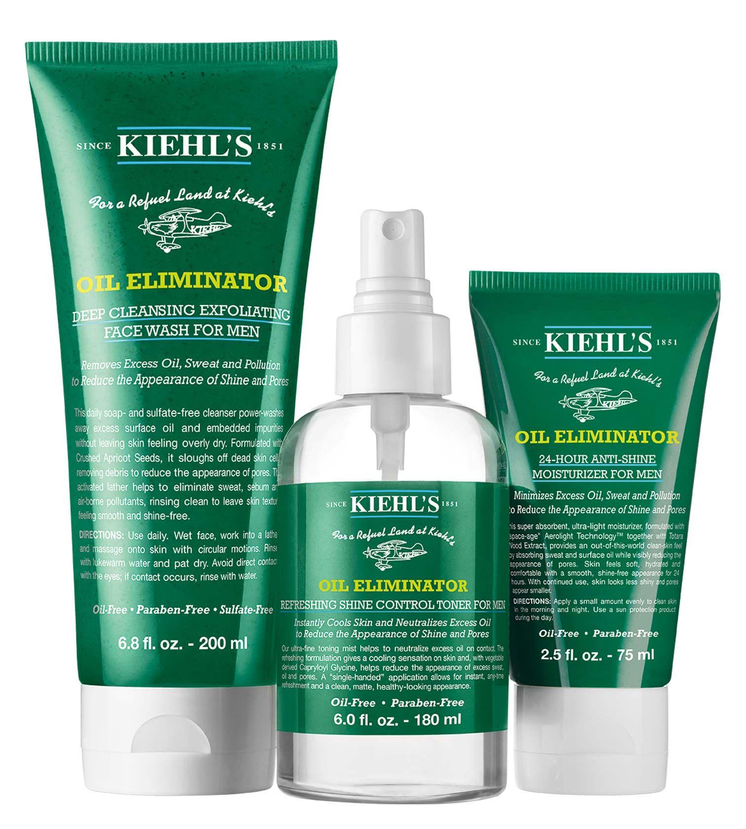 Oil Eliminator Shine Control Routine Skin Care Exfoliating Face Wash Shine Control Products