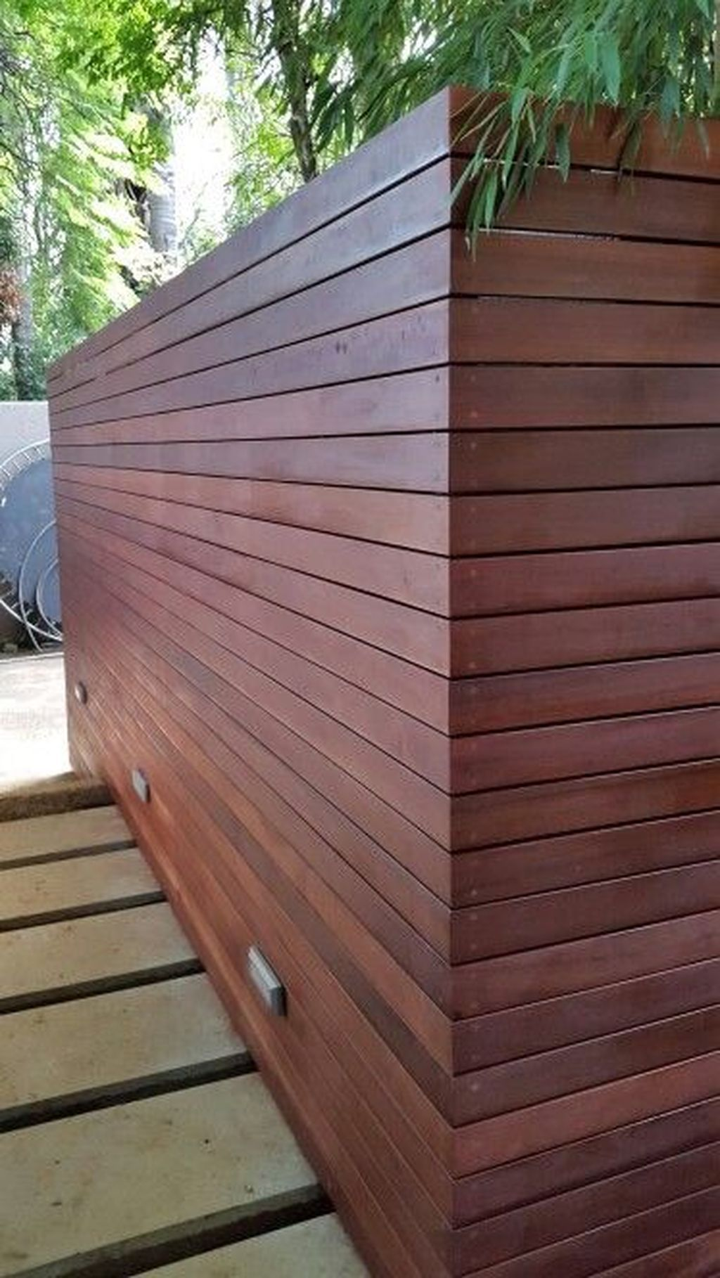 32 cute outdoor shower design ideas with wood elements in