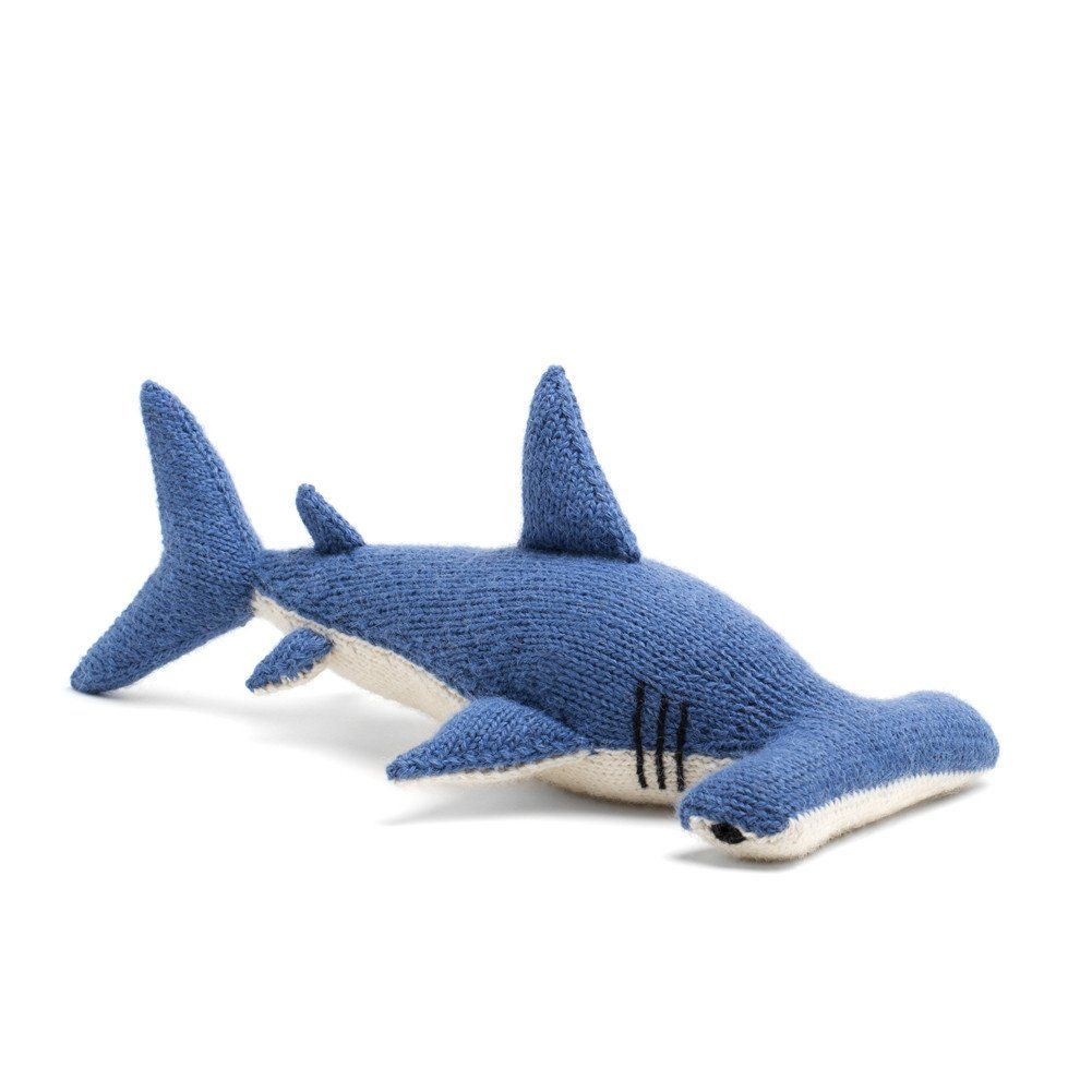 knit alpaca stuffed hammerhead shark hammerhead shark shark and