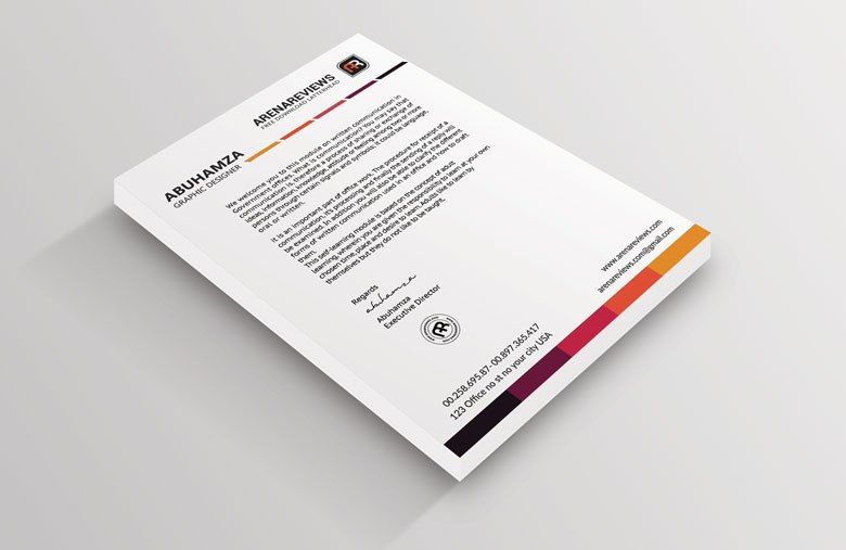 Free Letterhead Templates In Psd Ms Word And Pdf Format Http