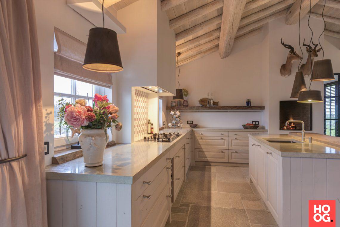 Van essen interieurbouw landelijke woonkeuken hoog