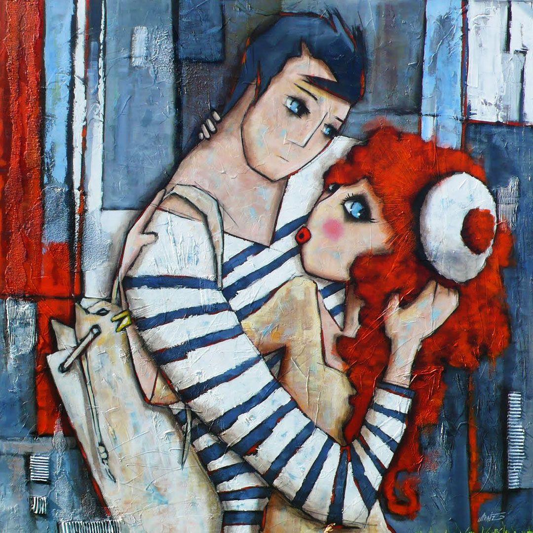 Peinture bretonne et normande contemporaine | CANVAS PAINTING IDEAS ...