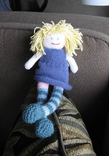 Knitted Rag Doll By Debbie Blissee Pattern Knitting Crochet