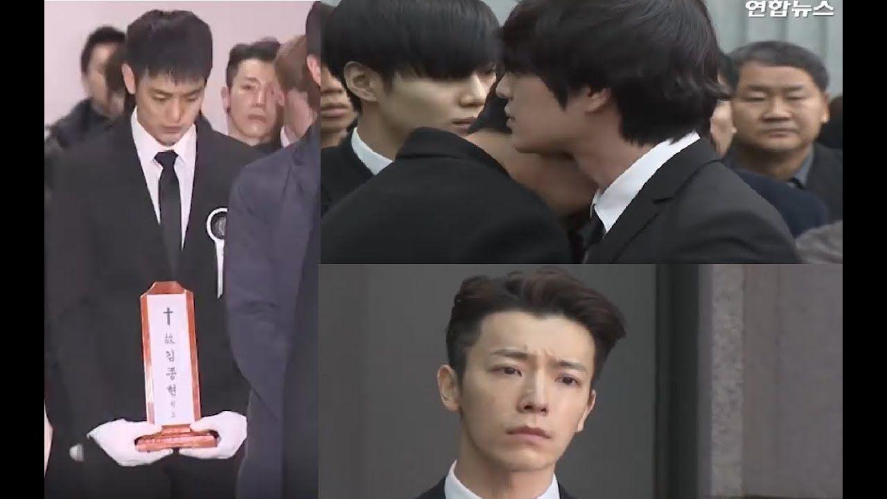 Live Last Farewell Jonghyun Minho Key More Korean Idols Bursts Out Jonghyun Korean Idol Drama News