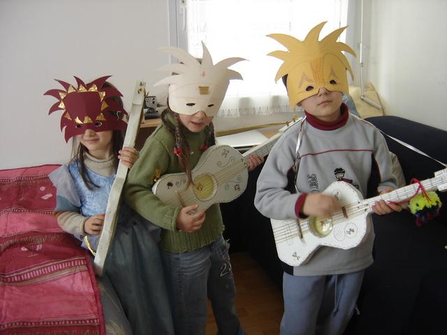 masques et accessoires faciles à réaliser Instructions...