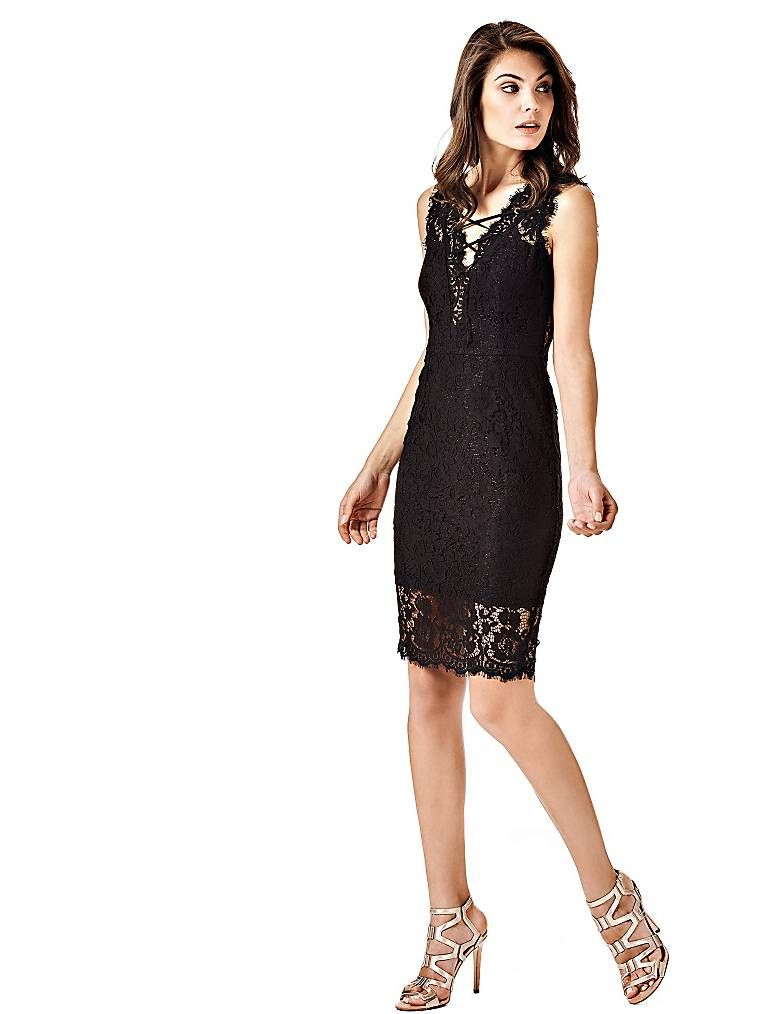 ROBE DENTELLE LACETS MARCIANO on Guess.eu   Dress in 2018 ... 556e93165e15