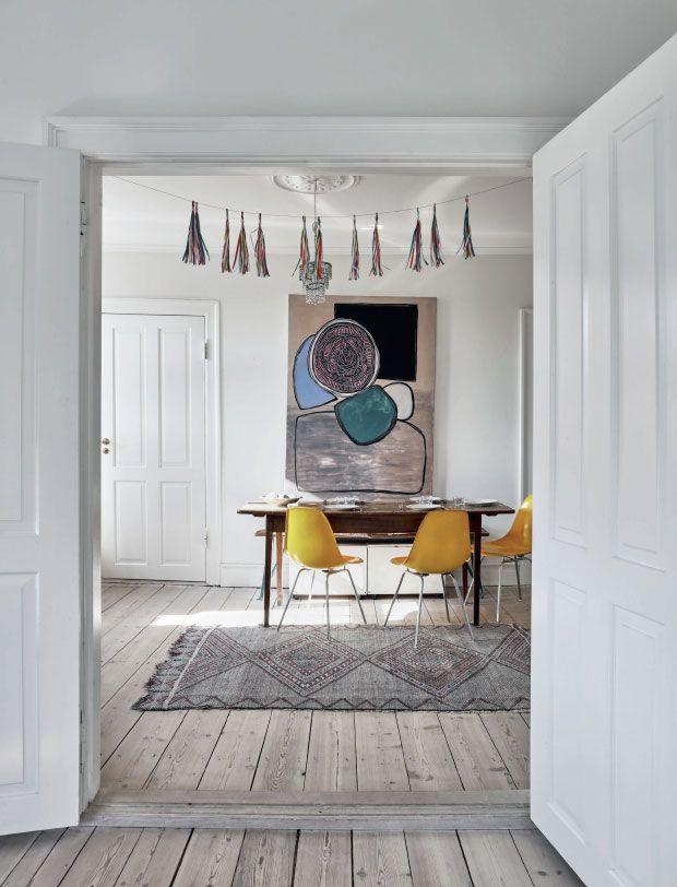 Copenhagen home filled with art Follow Gravity