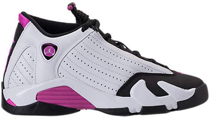 Jordan 14 Retro Fuchsia Flash Black Toe (GS)  4ea4b882a2