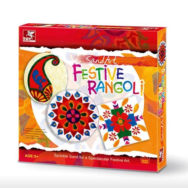 Toy Kraft Toys > 5y-10y > Sand Art - Festive Rangoli | VIDEO