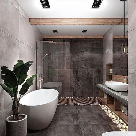 """Photo of Fine interiører på Instagram: """"Baddesign av @katya_fill #fineinteriors #interiors #interiordesign #architecture #decoration #interior #loft #design #happy # luksus…"""""""