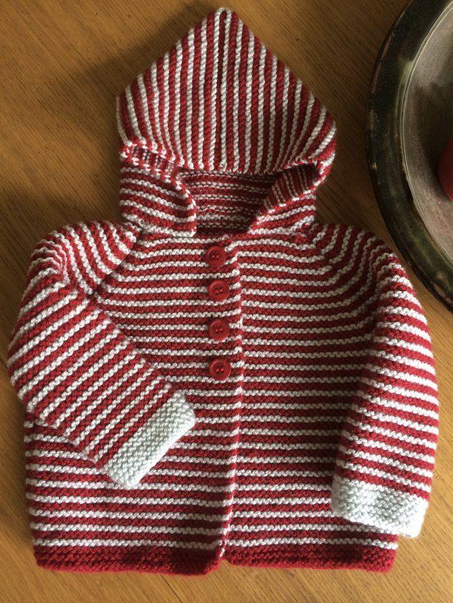 1cc87eb27f34 Garter Stitch Hooded Jacket knitting project by Daisy