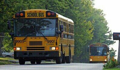 Awesome School Bus Pics Lexington City Schools In Kentucky School Bus Bus Football Cheerleaders