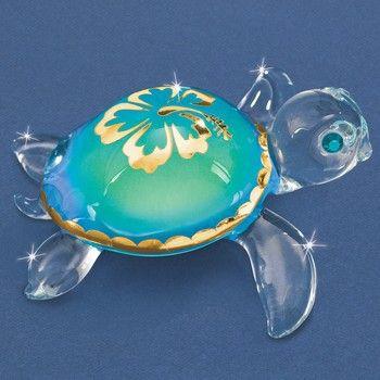 "Glass Baron ""Aloha"" Sea Turtle"