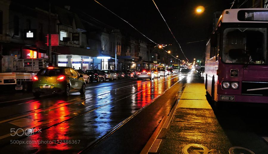 Streets at Night by foulefafa