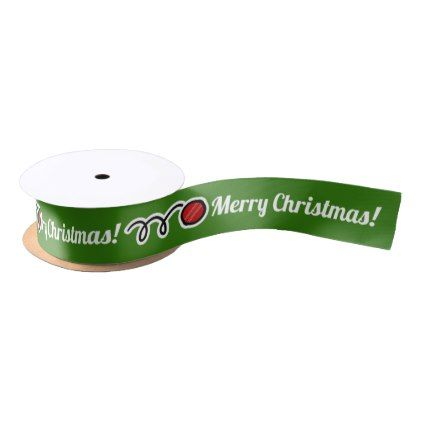 Custom christmas gift ribbon for cricket players negle Images