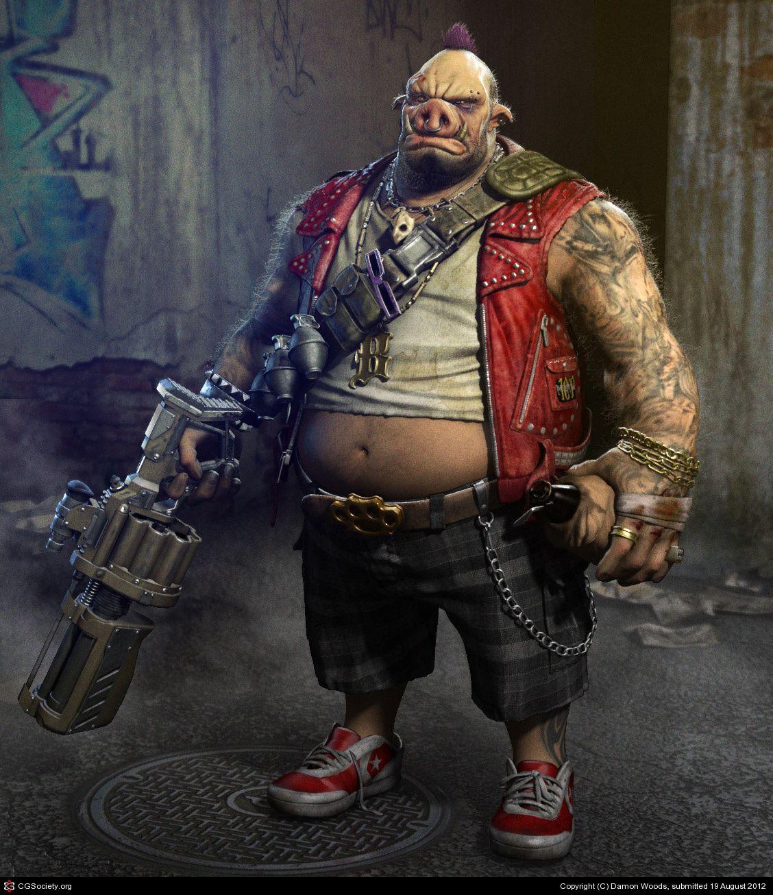 Bebop\'s Big Payback by Damon Woods   3D   CGSociety