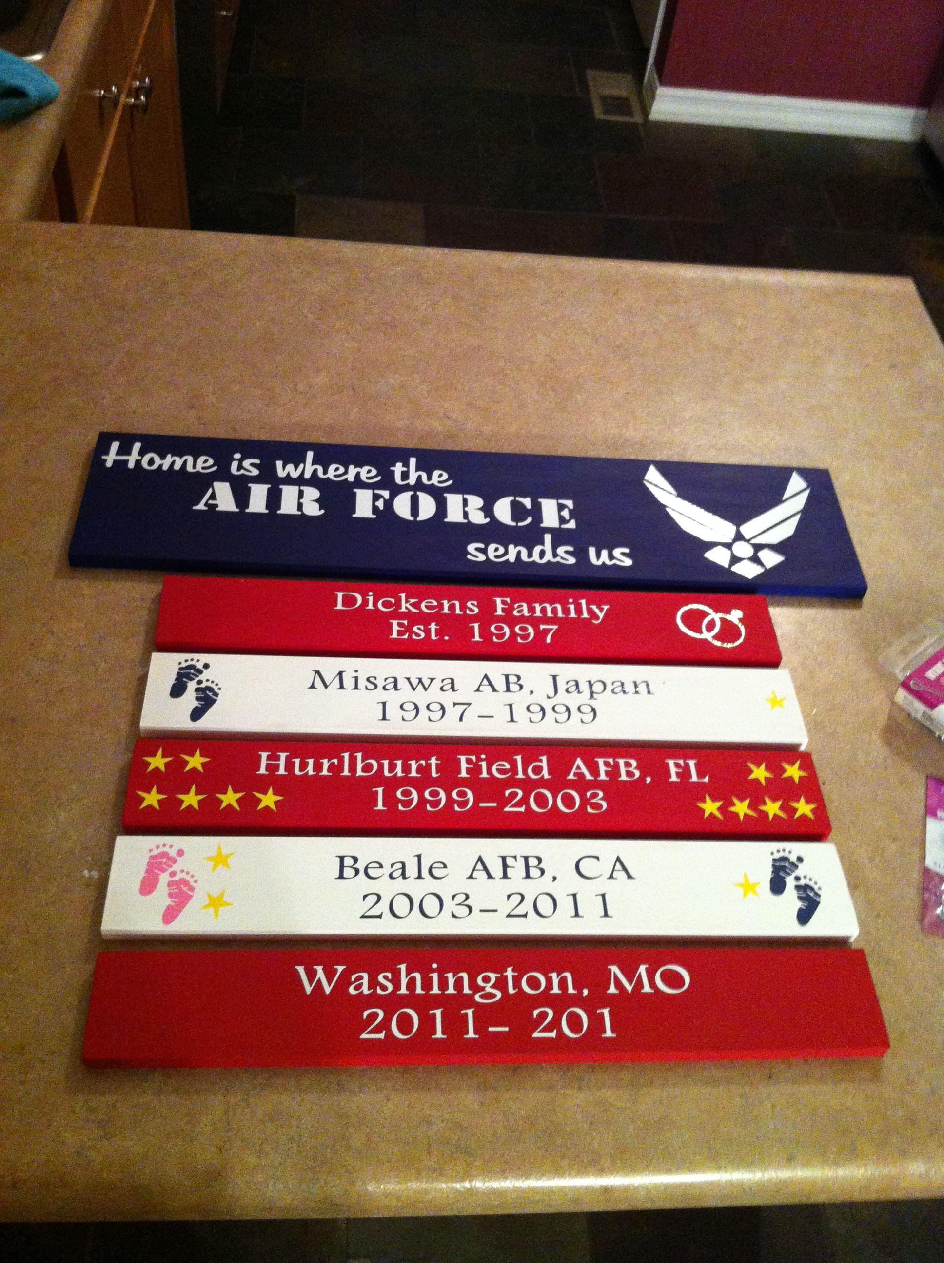 Duty stations Duty stations, Hurlburt field, Air force