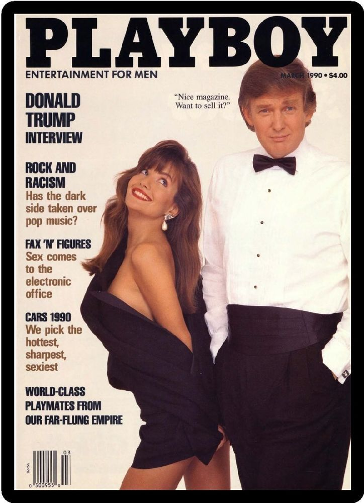 Image result for donald trump bunny playboy magazine cover