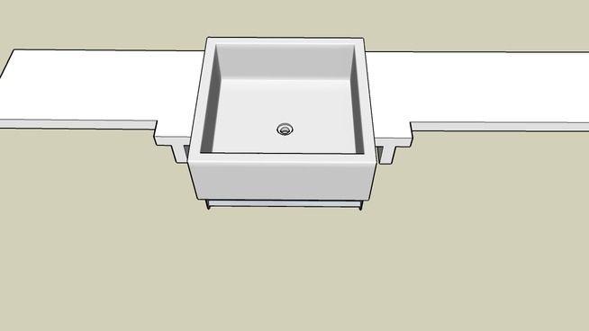Bancada de banheiro - 3D Warehouse