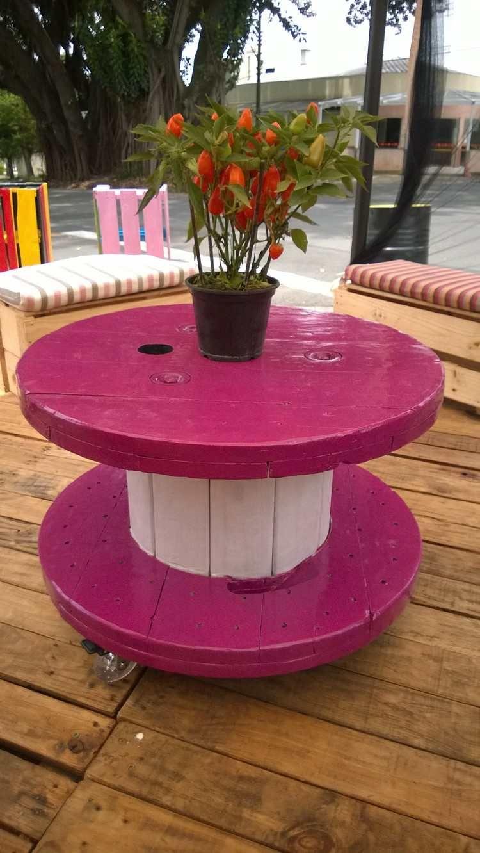 Touret table basse et table d\'appoint en 30 idées DIY | a ...