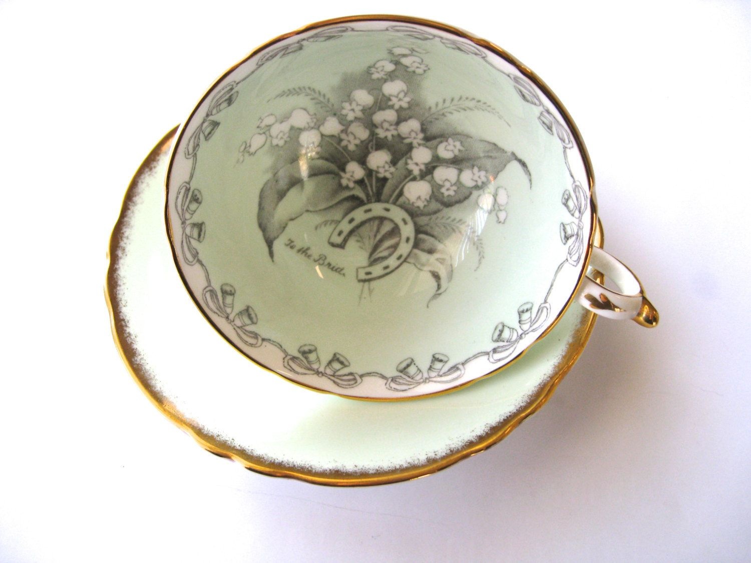 Tea Cup Set Paragon Lily Of The Valley Porcelain China Cup And Etsy Tea Cups Lily Of The Valley China Tea Cups