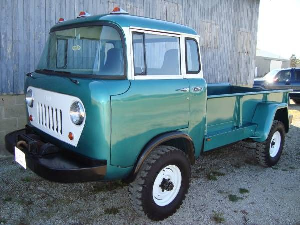 1964 Jeep FC-170 Pickup Maintenance/restoration of old/vintage vehicles: the material for new cogs/casters/gears/pads could be cast polyamide which I (Cast polyamide) can produce. My contact: tatjana.alic@windowslive.com