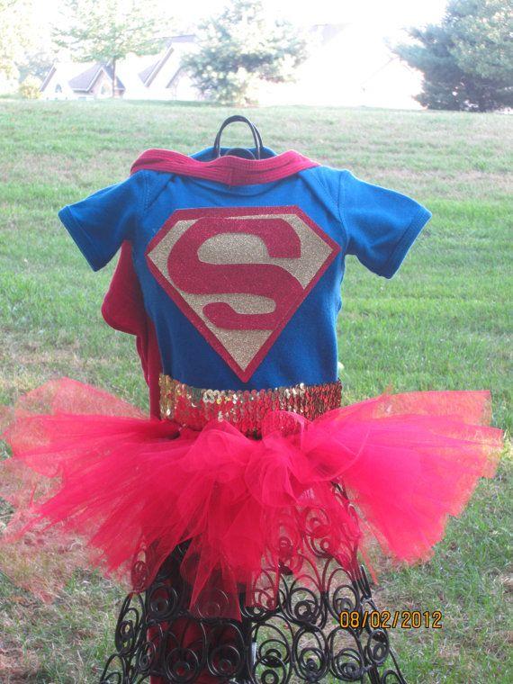 I Like This Baby Children Girls Superwoman Halloween