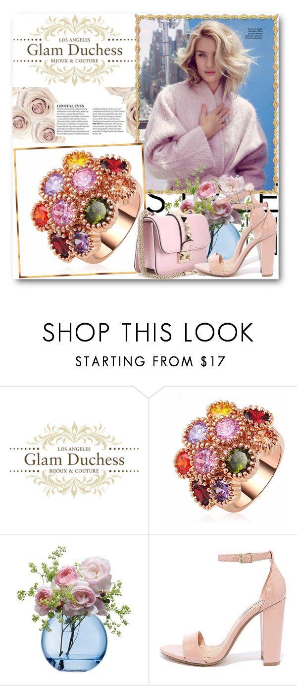 """Glam Duchess"" by glamduchess on Polyvore featuring LSA International, Steve Madden and Valentino"